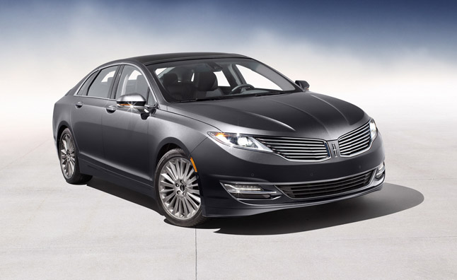 2013 Lincoln MKZ Hybrid Gets 45 MPG Rating