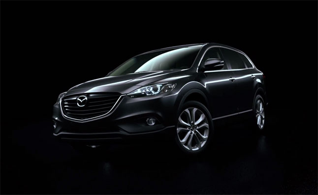 2013 Mazda CX9 Shown Off with Kodo Design – Video