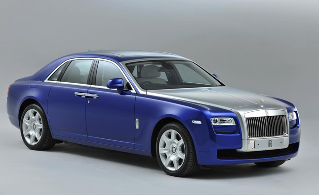 2013 Rolls-Royce Ghost Gets Minor Updates