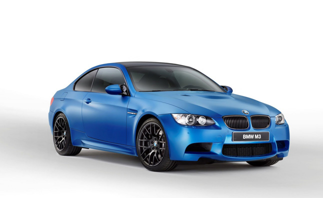 BMW M3 Coupe Frozen Limited Edition Revealed