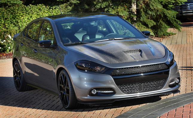 Dodge Dart Carbon Fire Headed for SEMA
