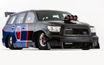 Wild Toyota SEMA Cars Include Sequoia Drag Racer, Widebody Camry
