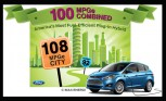 Ford C-Max Energi Rated at 100 MPGe Combined