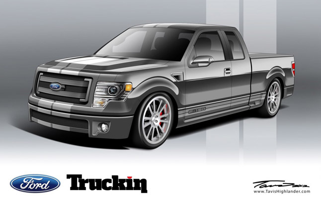 Ford F-Series Trucks Tricked out for SEMA