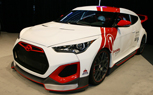 "Hyundai ""Velocity"" Veloster is a Skunk Works Project With Cosworth Tuning: 2012 SEMA Show"