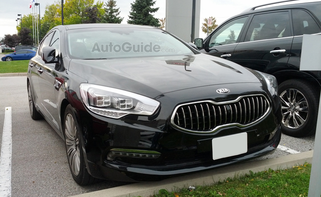 2014 Kia Quoris Spotted in Canada