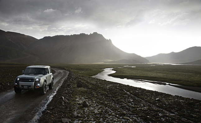Land Rover Defender Will be Entry-Level Vehicle