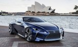 Lexus LF-LC Blue Concept is a 500 HP Hybrid