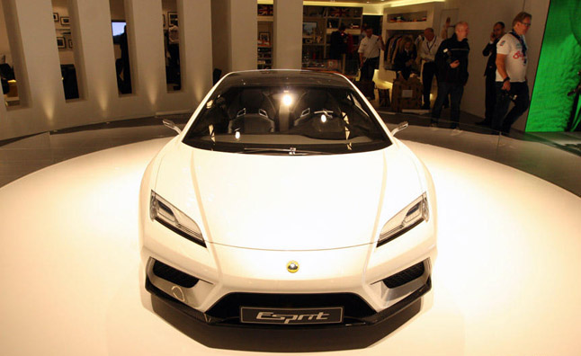 Lotus Esprit Axed, Brand to Focus on Core Products
