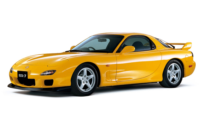 New Mazda RX-7 Due to Arrive in 2017