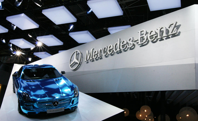 Mercedes SLS Electric Drive Makes Silent Video Debut