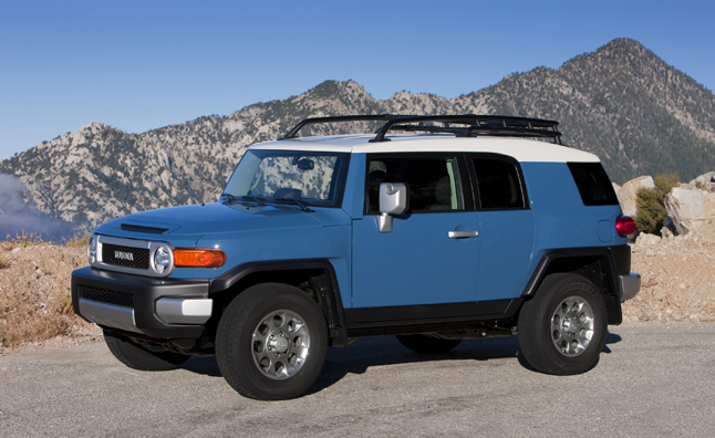 Toyota FJ Cruiser Equipped with TRD Brake Kit Recalled