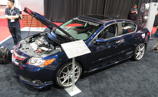 Supercharged Acura ILX Concept is Built for the Streets: 2012 SEMA Show