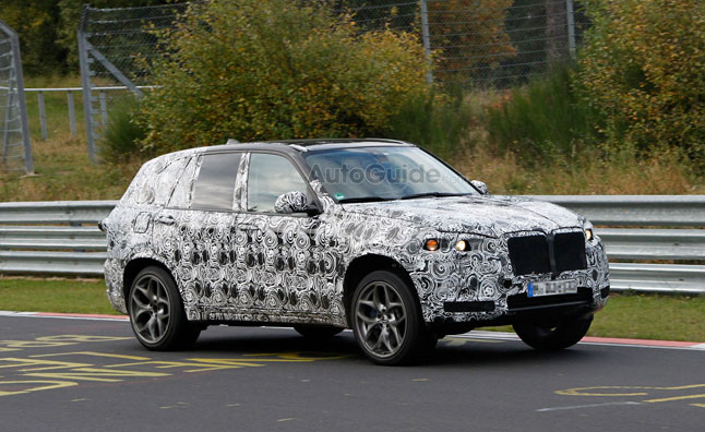 New BMW X5 M Spied Running Nurburgring Laps