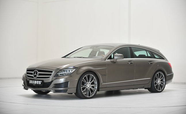 Brabus Mercedes CLS Shooting Brake is a Torque-Tastic Wagon