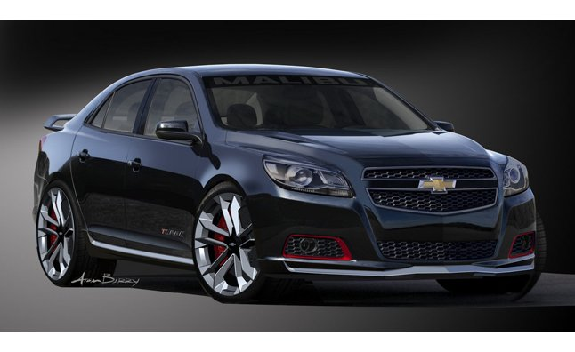 Chevrolet Malibu Turbo Performance Concept Revealed Ahead of SEMA