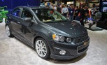Chevrolet Sonic Dusk Tries for Class, Gets Ground Effects: 2012 SEMA Show