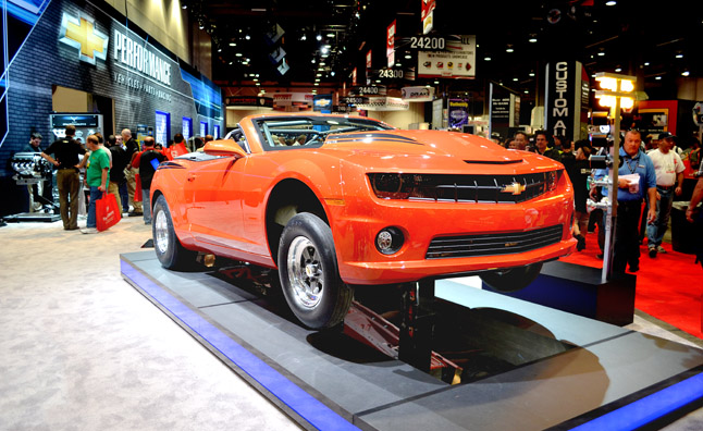 Last 2012 COPO Camaro is a Soft Top: 2012 SEMA Show