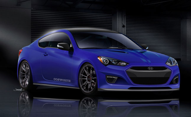 Cosworth Hyundai Genesis Coupe Previewed: 2012 SEMA Show