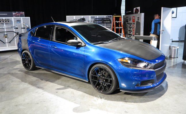 Dodge Dart Possibilities Previewed by Mopar: 2012 SEMA Show