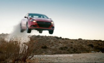 Travis Pastrana Stars in New Dodge Dart Ad  Video