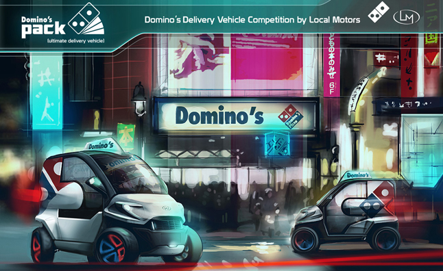 Domino's Picks Ultimate Delivery Vehicle Concept Car