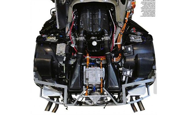 Ferrari F70 Engine Spotted in Magazine