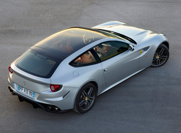 Ferrari FF Gets Panoramic Glass Roof
