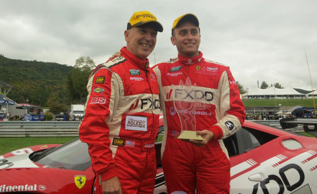 Ferrari Sweeps 2012 GT Rolex Grand-Am Series