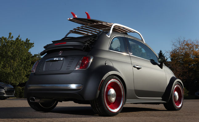 Fiat 500 Beach Cruiser is SEMA Bound