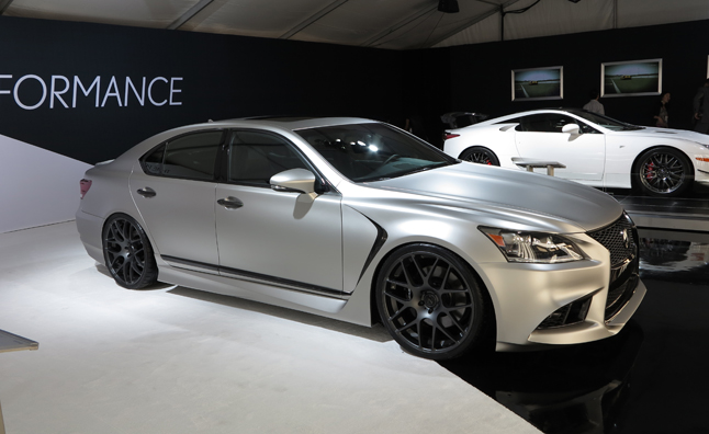 Five Axis Lexus LS F Sport is a VIP Bruiser: 2012 SEMA Show