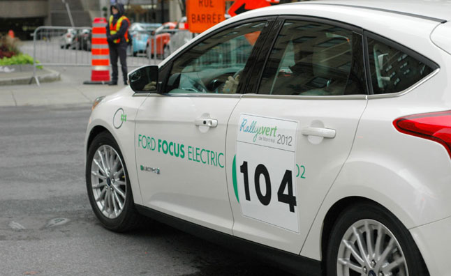 Ford Claims Best Fuel Economy at Montreal Green Rally