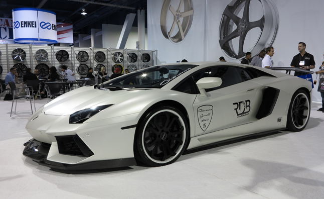 Luxury and Exotics at the 2012 SEMA Show