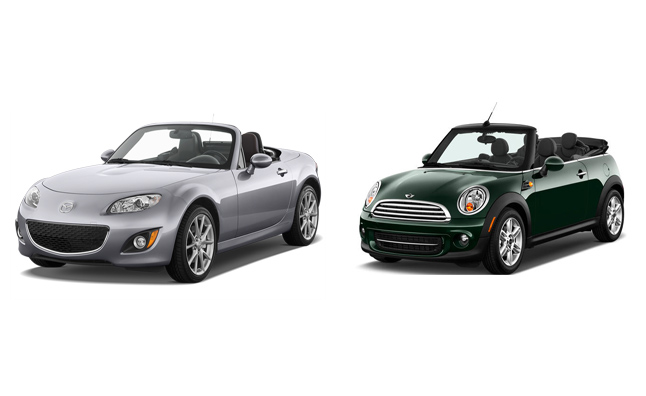 Going Topless: Getting Frisky With Mazda and MINI