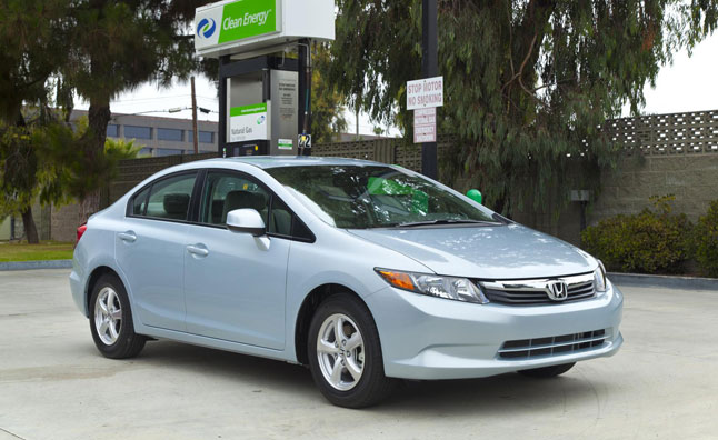 Honda Civic Natural Gas Buyers Getting $3,000 Gas Card