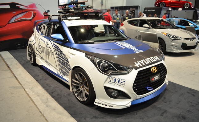 Hyundai Veloster Alpine Concept is Snow-Prepped: 2012 SEMA Show