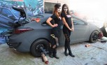 Hyundai 'Walking Dead' Elantra gets Spooky at SEMA