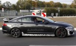 Jaguar XFR-S Spied with Big Spoiler