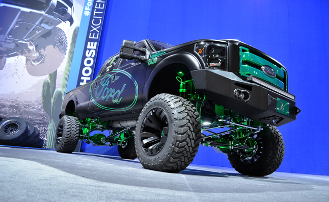 Ford Storms 2012 SEMA Show With Modified Trucks