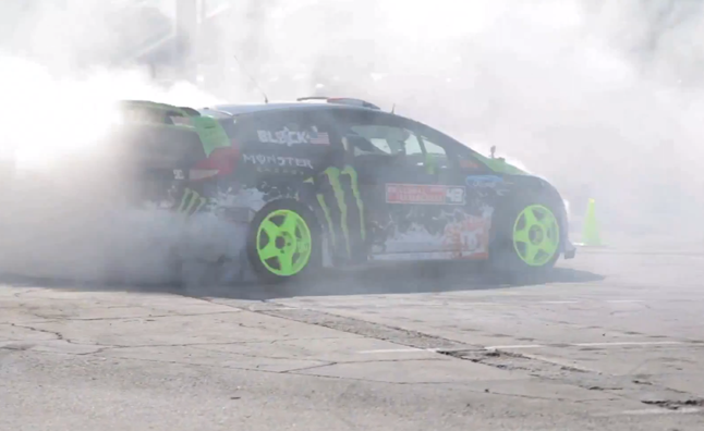 Ken Block Takes AutoGuide for an Afternoon Drift