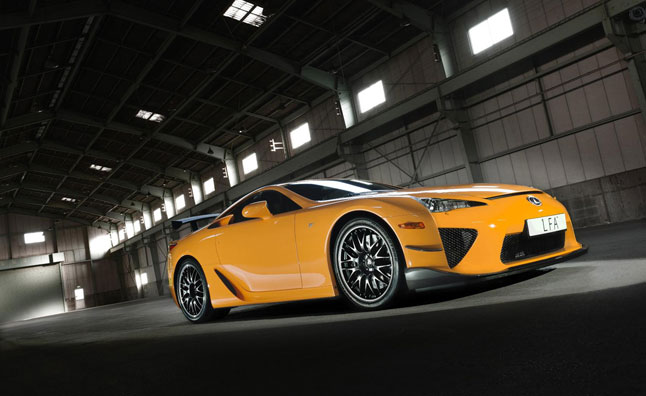 Lexus LFA Nurburgring Edition Headed to SEMA