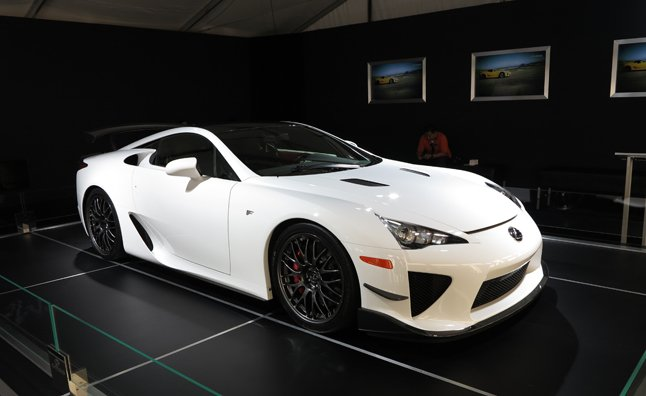 Lexus LFA Nurburgring Edition Makes US Debut at SEMA