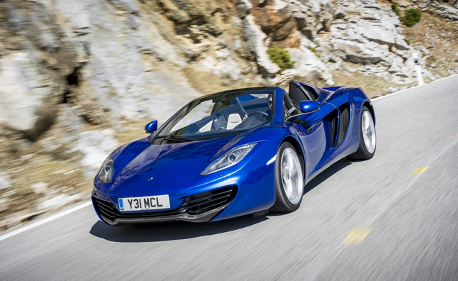 McLaren MP4-12C Spider is a Rolling Work of Art: Mega Gallery