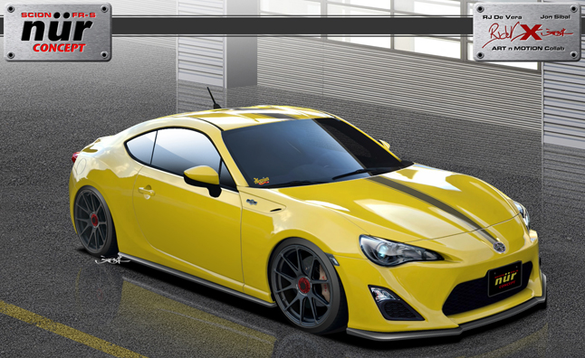 Scion FR-S Supercharged by Meguiar's is SEMA Bound