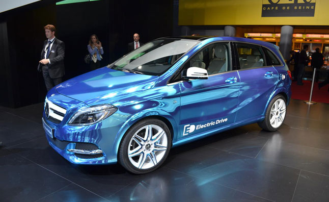 Mercedes B-Class Electric Drive Heading to America