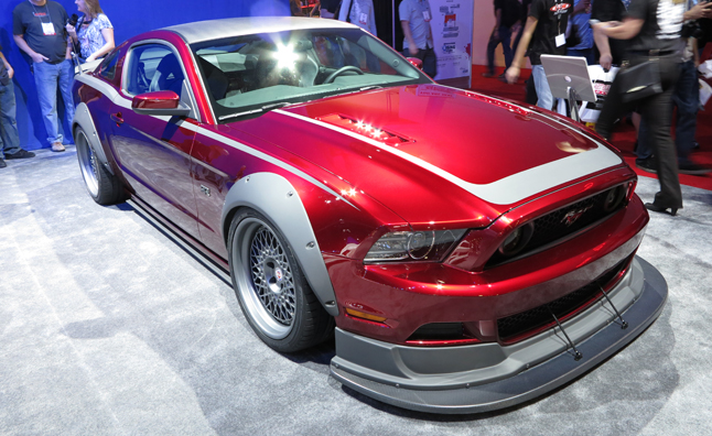 Ford Mustangs Bring American Muscle Center Stage: 2012 SEMA Show