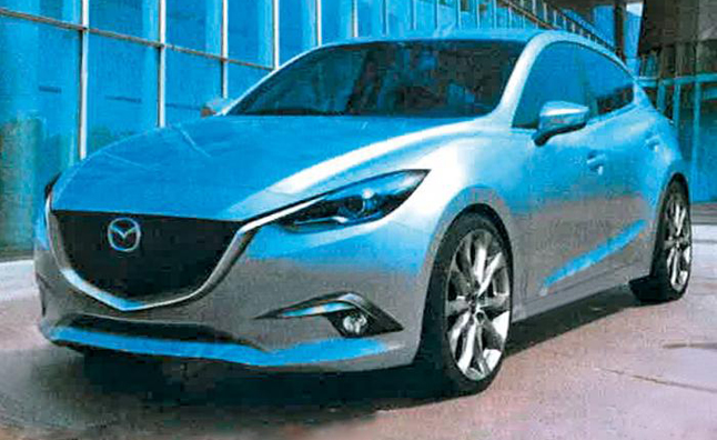 2014 Mazda3 Leaked Well in Advanced of Debut