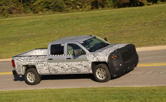 2014 Chevrolet Silverado Teased, Final Validation Under Way