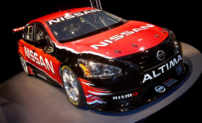 Nissan Altima V8 Supercar Revealed
