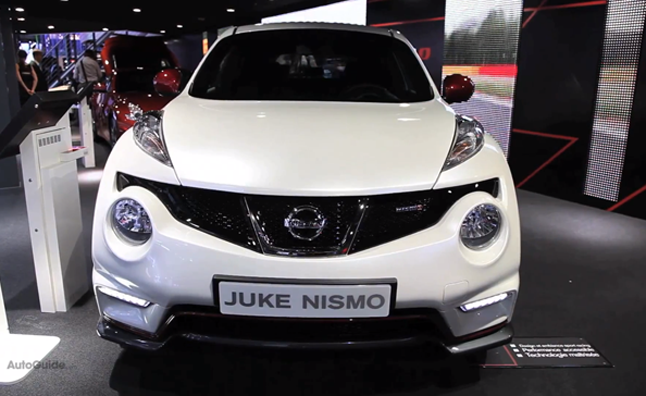 Nissan Juke NISMO, First Look: 2012 Paris Motor Show